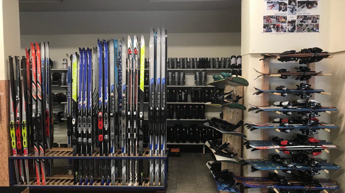 Standort 1: Langlauf & Snowboard